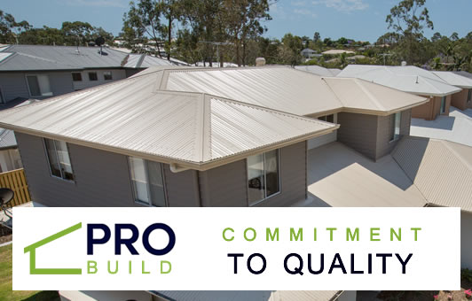 Pro Build Roofing Brisbane - Commitment to Quality