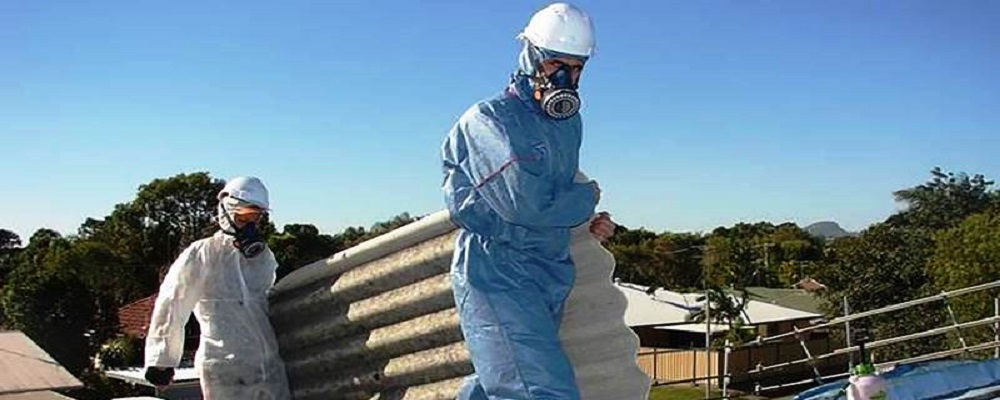 Asbestos disposal management